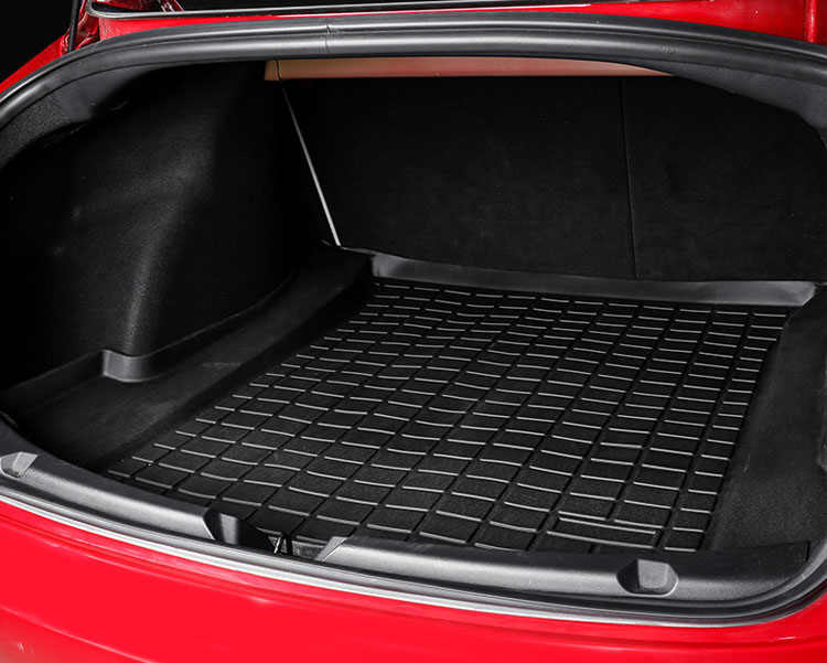 TPE CAR TRUNK MAT FOR Tesla Model 3 (6)