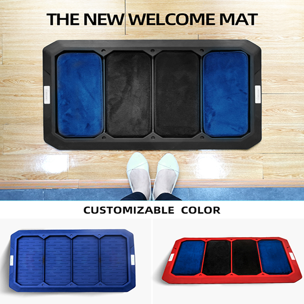 Hot Sale Household TPE Entrance Non-slip Disinfection Floor mat (8)