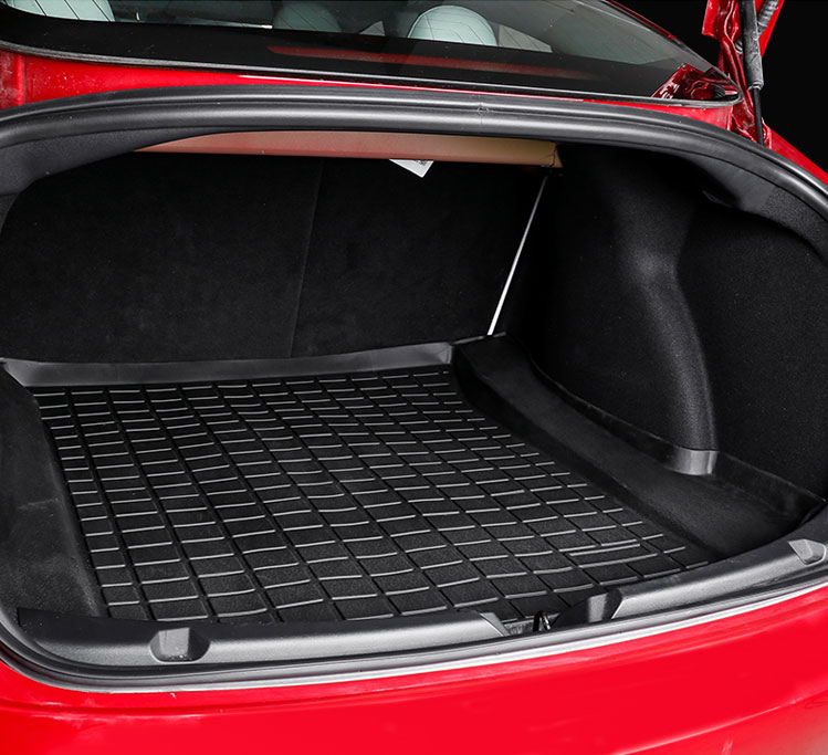TPE CAR TRUNK MAT FOR Tesla Model 3 (7)